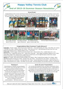 HVTC Newsletter March 2016 page 1